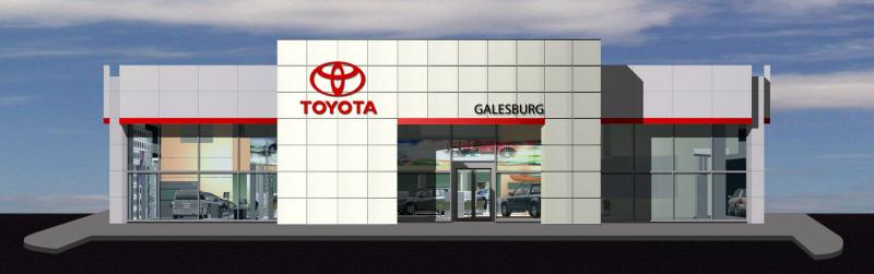 Galesburg Toyota New Car Dealership and Service Center